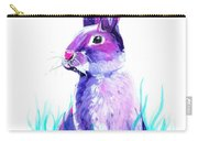 Turquoise And The Hare  Carry-all Pouch