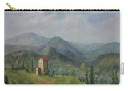 Tuscany Italy Olive Groves Carry-all Pouch by Katalin Luczay