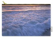 Twilight At Gale Beach In Albufeira Carry-all Pouch