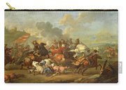 Two Battle Scenes Between Christians And Saracens Carry-all Pouch