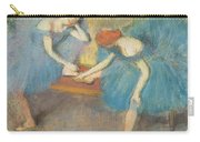 Two Dancers At Rest Carry-all Pouch