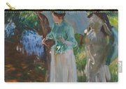 Two Girls With Parasols Carry-all Pouch
