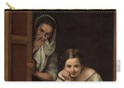 Two Women At A Window Carry-all Pouch