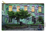 Underwater Graffiti On Studio At Metelkova City Autonomous Cultu Carry-all Pouch