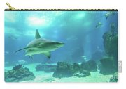 Underwater White Shark Carry-all Pouch