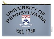 University Of Pennsylvania Est. 1740 Carry-all Pouch