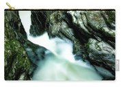 Up The Down Waterfall Carry-all Pouch