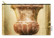 Urn With Purple Flowers Carry-all Pouch