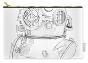Us Navy Diving Helmet Mark V Carry-all Pouch