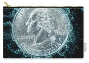 Us One Quarter Dollar Coin 25 Cents Carry-all Pouch
