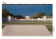 U.s. World War II Memorial Carry-all Pouch