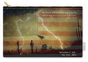 Usa Patriotic Operation Geronimo-e Kia Carry-all Pouch by James BO  Insogna