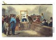 Va: Freedmens Bureau 1866 Carry-all Pouch