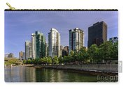Waterfront Of Vancouver, Canada Carry-all Pouch