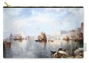 Venetian Grand Canal Carry-all Pouch by Thomas Moran