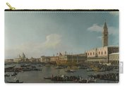 Venice   The Basin Of San Marco On Ascension Day Carry-all Pouch