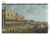 Venice   The Doges Palace And The Riva Degli Schiavoni Carry-all Pouch
