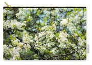 Vermont Apple Blossoms Carry-all Pouch