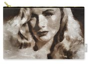 Veronica Lake Vintage Hollywood Actress Carry-all Pouch