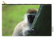 Vervet Monkey Carry-all Pouch
