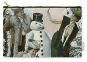 Victorian Christmas Card Carry-all Pouch