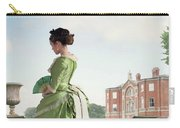 Victorian Woman In A Green Dress Carry-all Pouch