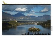 View Of Lake Bled From Ojstrica Carry-all Pouch