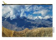 View Of Snow Peaks Leh Ladakh  Jammu And Kashmir India Carry-all Pouch