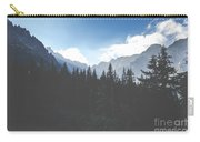 View Of Tatra Mountains From Hiking Trail. Poland. Europe.  Carry-all Pouch