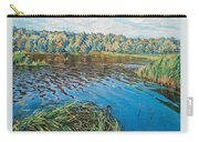 View Of The Lake Nikolai Petrovich Bogdanov-belsky Carry-all Pouch