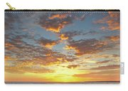 Gale Beach At Sunset. In Algarve Carry-all Pouch