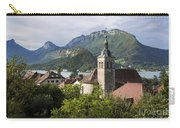 Village Of Talloires On The Banks Of Lake Annecy Carry-all Pouch