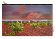 Vineyards At Sunset Carry-all Pouch