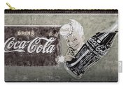 Vintage 1916 Hand Painted Coca Cola Sign Carry-all Pouch