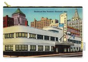 Vintage Cincinnati Postcard Carry-all Pouch