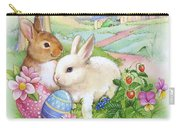 Vintage Easter Bunnies Carry-all Pouch