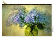 Vintage Lilac Carry-all Pouch by Jessica Jenney