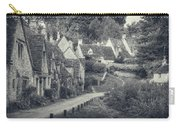 Vintage Photo Effect Medieval Arlington Row In Cotswolds Country Carry-all Pouch