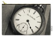 Vintage Pocket Watch Carry-all Pouch