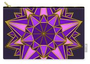 Violet Galactic Star Carry-all Pouch