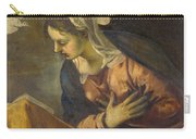 Virgin From The Annunciation To The Virgin Carry-all Pouch