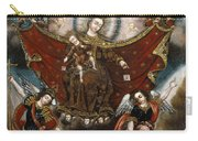 Virgin Of Carmel Saving Souls In Purgatory Carry-all Pouch