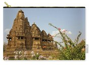 Vishvanatha Temple In Khajuraho Carry-all Pouch