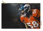 Von Miller Carry-all Pouch by Don Medina
