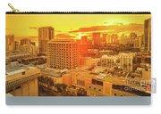 Waikiki City Sunset Carry-all Pouch