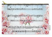 Waltz Of The Flowers Pink Roses Carry-all Pouch