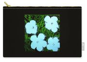 Warhol - Flowers 3 Andy Warhol Carry-all Pouch