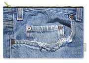 Worn Jeans Carry-all Pouch
