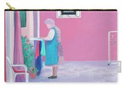 Washing Day, Burano, Venice Carry-all Pouch