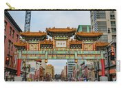 Washington D.c. Chinatown Carry-all Pouch